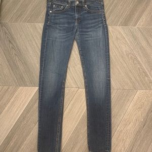 Rag and Bone Skinny Jeans Sz 27